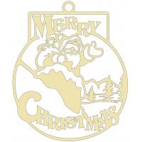 Merry Christmas Anhänger